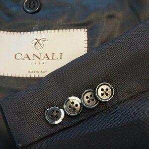Canali 1934 CURRENT Black Woven Sport Coat Jacket